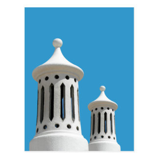 アルガルヴェ地方の煙突の郵便はがき ポストカード