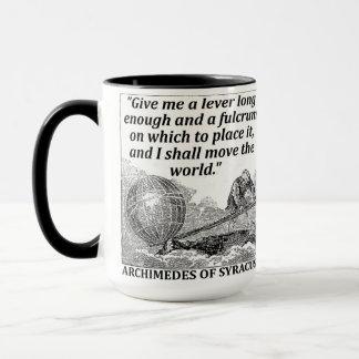 アルキメデスのレバー マグカップ