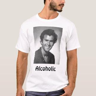アルコール中毒患者 Tシャツ