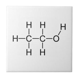 アルコール分子 タイル