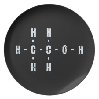 アルコール分子 プレート
