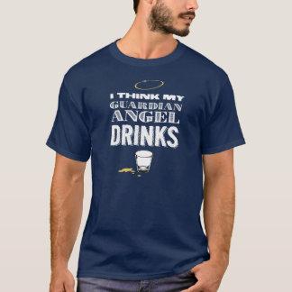 アルコール性の守り神 Tシャツ