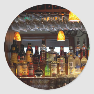 アルコール飲料のバー ラウンドシール
