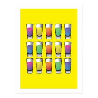 アルコール飲料の15人の射手 ポストカード