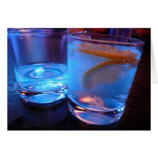 アルコール飲料ガラス カード