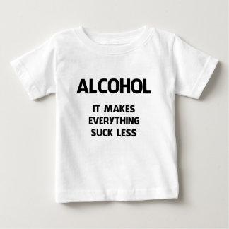 アルコール ベビーTシャツ