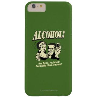 アルコール: 爽快な1杯の飲み物I BARELY THERE iPhone 6 PLUS ケース