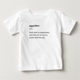 アルゴリズム ベビーTシャツ