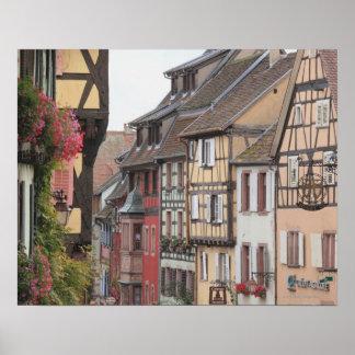 アルザス、フランス8 ポスター
