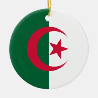 アルジェリアのオーナメントの旗 セラミックオーナメント