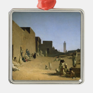 アルジェリアのサハラ砂漠のLaghouat、1879年 メタルオーナメント
