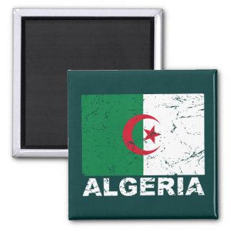 アルジェリアのヴィンテージの旗 マグネット