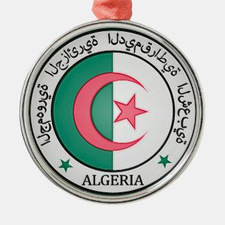 アルジェリアの円形の紋章 メタルオーナメント