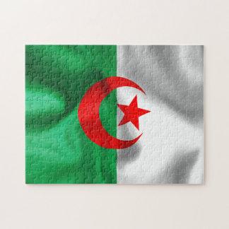 アルジェリアの旗のジグソーパズル ジグソーパズル