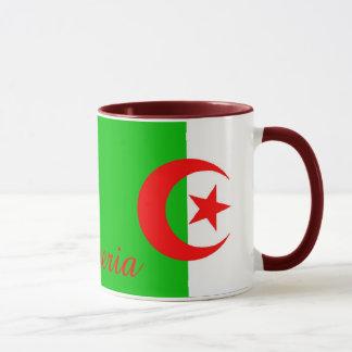 アルジェリアの旗のマグ マグカップ