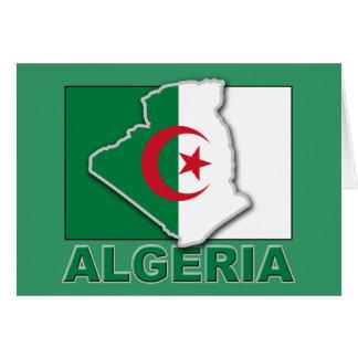 アルジェリアの旗の土地 カード