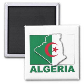アルジェリアの旗の土地 マグネット