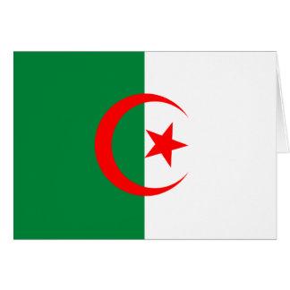 アルジェリアの旗カード カード
