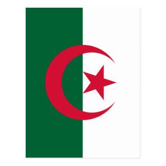 アルジェリアの旗 ポストカード