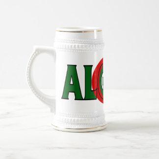 アルジェリアステイン ビールジョッキ