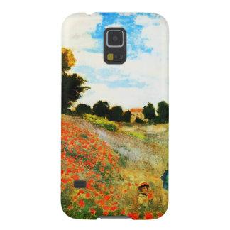 アルジャントゥーユのクロウドのMonetケシ Galaxy S5 ケース