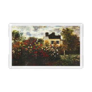 アルジャントゥーユのクロウドMonet-Monetの庭 アクリルトレー