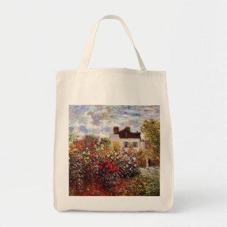 アルジャントゥーユクロード・モネのファインアートのダリアの庭 トートバッグ
