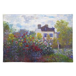 アルジャントゥーユクロード・モネのMonetの庭 ランチョンマット