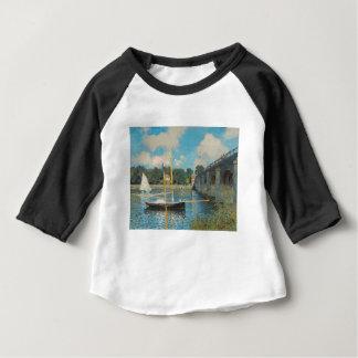 アルジャントゥーユ-クロード・モネの橋 ベビーTシャツ