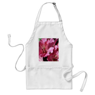 アルストロメリア属のピンクの花のエプロン スタンダードエプロン