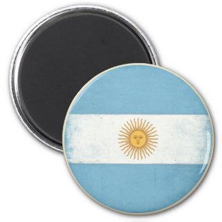 アルゼンチンからの動揺してなヴィンテージの旗が付いている磁石 マグネット