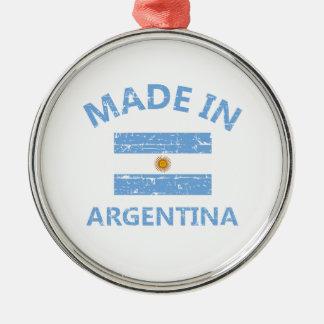 アルゼンチンで作られる メタルオーナメント