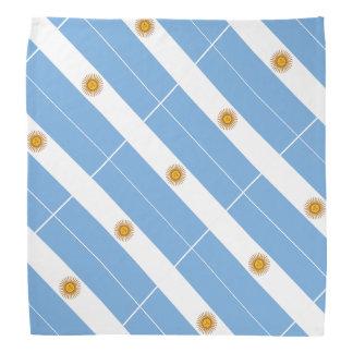 アルゼンチンのアルゼンチン人の旗のバンダナ|色 バンダナ