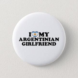 アルゼンチンのガールフレンド 5.7CM 丸型バッジ