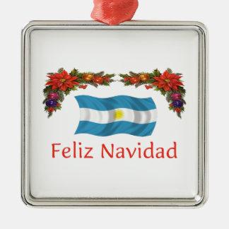 アルゼンチンのクリスマス メタルオーナメント