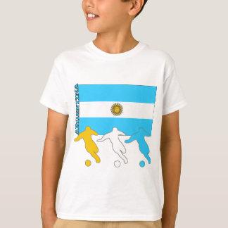 アルゼンチンのサッカーの選手 Tシャツ