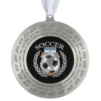 アルゼンチンのサッカー2016ファンのギア オーナメント