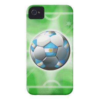 アルゼンチンのフットボール/サッカーのiphone 4ケース Case-Mate iPhone 4 ケース