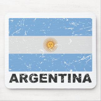 アルゼンチンのヴィンテージの旗 マウスパッド