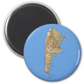 アルゼンチンの地図の磁石 マグネット