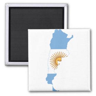 アルゼンチンの旗の地図AR マグネット