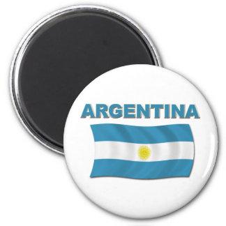 アルゼンチンの旗1 マグネット