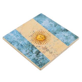 アルゼンチンの旗 ウッドコースター
