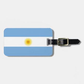 アルゼンチンの旗 ラゲッジタグ
