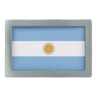アルゼンチンの旗 長方形ベルトバックル