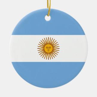 アルゼンチンの旗- Banderaアルゼンチン セラミックオーナメント