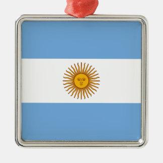 アルゼンチンの旗- Banderaアルゼンチン メタルオーナメント