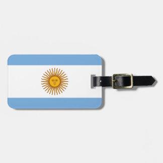 アルゼンチンの旗- Banderaアルゼンチン ラゲッジタグ