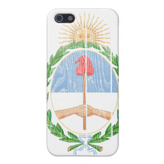 アルゼンチンの紋章付き外衣 iPhone SE/5/5sケース
