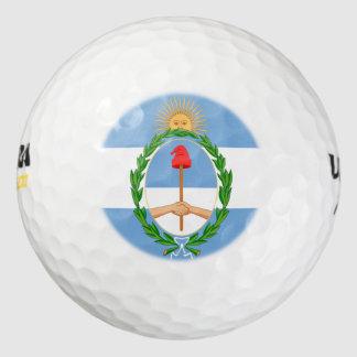 アルゼンチンの紋章 ゴルフボール